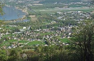 Le Bourget-du-Lac Commune in Auvergne-Rhône-Alpes, France