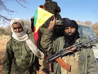 Azawad - Tuareg separatist rebels in Mali, January 2012