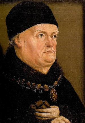 René of Anjou - 1474 portrait by Nicolas Froment
