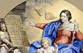 Le Tellier - LA VIERGE ET L'ENFANT JESUS REMETTANT UN ROSAIRE A SAINT DOMINIQUE.jpg