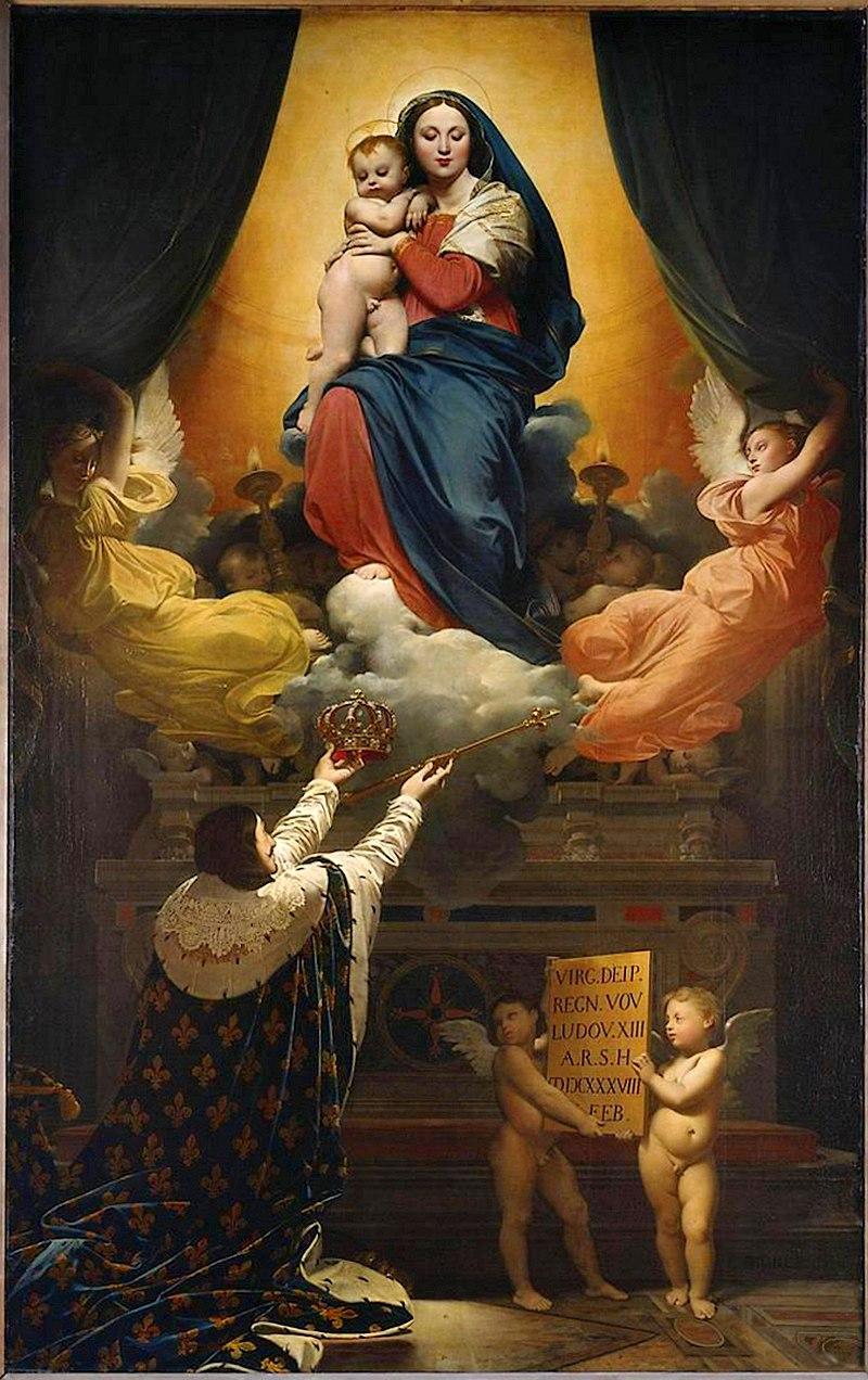 J. A. D. Ingres, Voto di Luigi XIII (1824), Montauban, Cattedrale