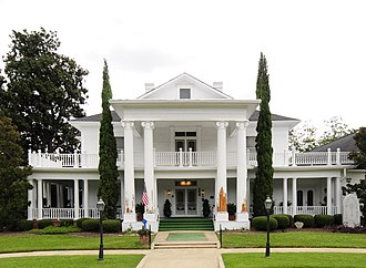 Leesville College Historic District - Leesville College Historic District, August 2012