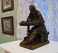 Leo Tolstoy at work by I.Gintsburg (1891, Prechistenka, Tolstoy museum) 01 by shakko.jpg