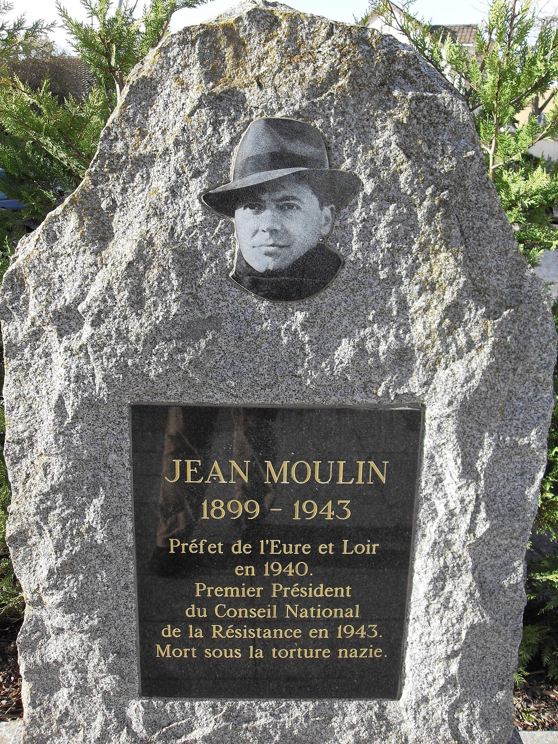 Jean Moulin u2014 Wikipédia # Ophtalmologue Les Clayes Sous Bois
