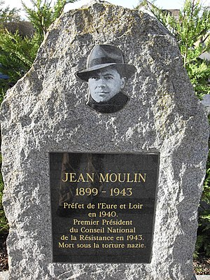 Jean Moulin - Monument to Jean Moulin