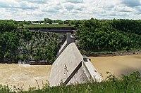 Letchworth State Park Mount Morris Dam 2002.jpg