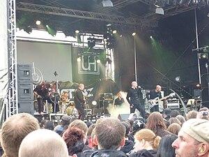 Letzte Instanz - Letzte Instanz performing on a festival in 2010