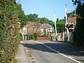 Level crossing at Blundel Lane - geograph.org.uk - 51312.jpg