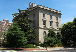 Levi P. Morton - From 1889 until 1895, Morton lived at this residence in Washington, D.C.