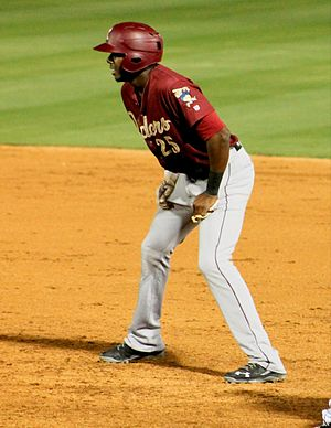 Lewis Brinson - Brinson with the Frisco RoughRiders in 2016
