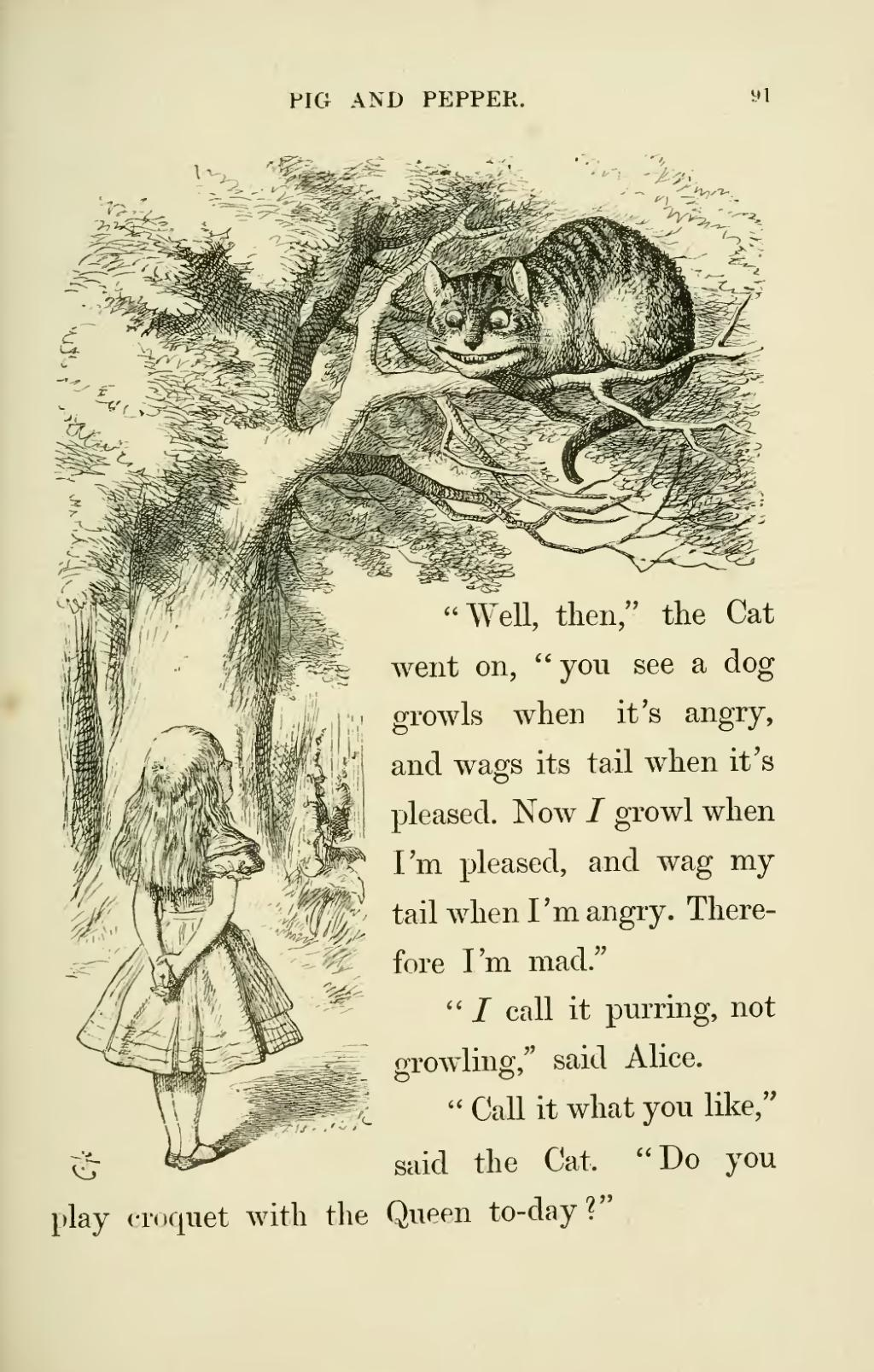 """the humor in alice in wonderland by lewis carroll Setting out to explore the oxford, england, of lewis carroll, who rooted """"alice in wonderland"""" 150 years ago in the place where he lived and worked."""
