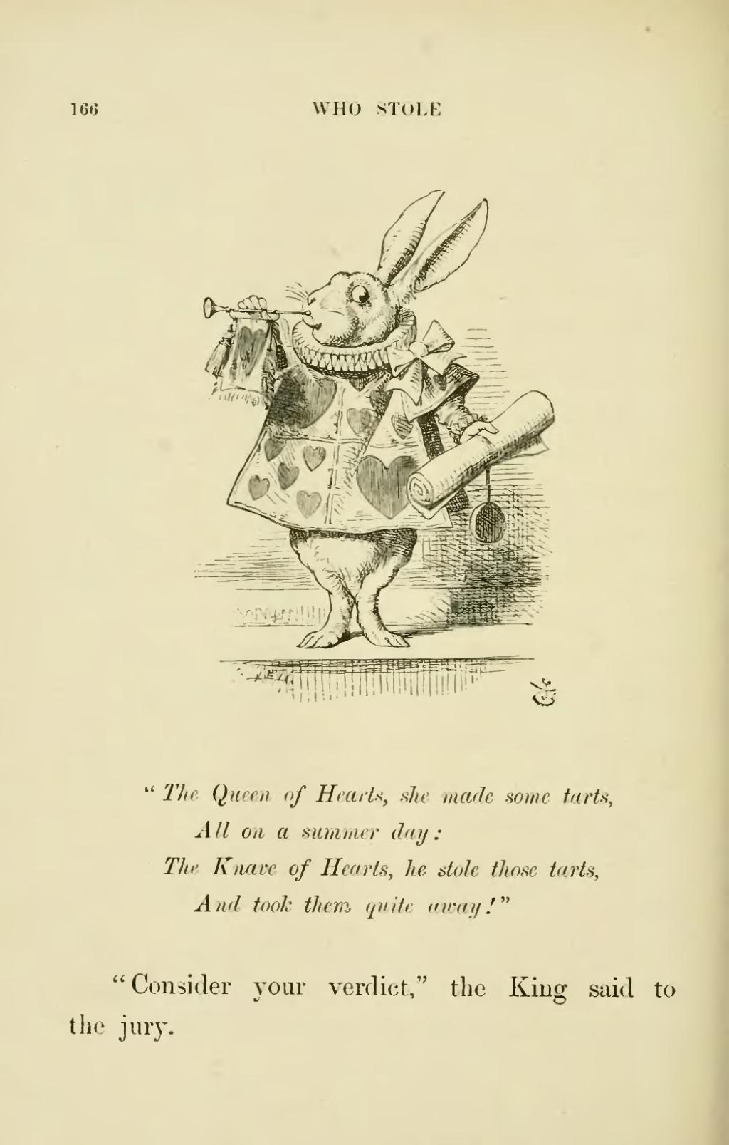 Page Lewis Carroll Alice S Adventures In Wonderland Djvu