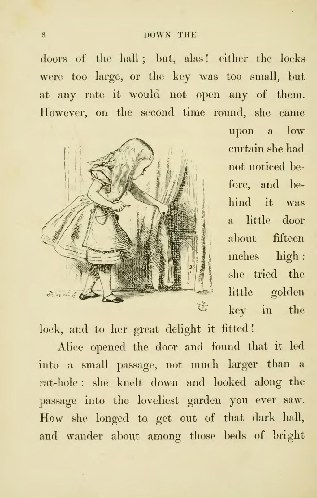 Page Lewis Carroll Alice S Adventures In Wonderland Djvu