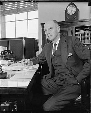 Lewis Compton - Harris & Ewing photo, circa 1940)