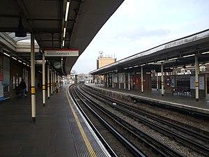 Leytonstone tube station - Image: Leytonstone station eastbound east