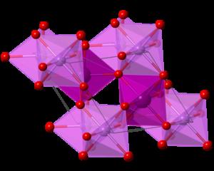 Lithium iodate - Image: Li IO3 polyhedral
