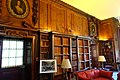 Library, woodwork from Cassiobury House, carvings by Grinling Gibbons - Great House - Castle Hill on the Crane Estate - Ipswich, Massachusetts - DSC06142.jpg