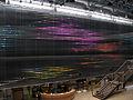 Lichtkunst in der Eingangshalle des Zentrums für Kunst und Medientechnologie (ZKM) in Karlsruhe 3.jpg