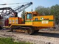 Liebherr SR714 welding tractor at Hoofddorp welding gaspipes, pic3.JPG