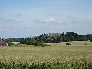 Southwest Finland - Image: Liedon Vanhalinna, näkymä Turusta, Haagasta