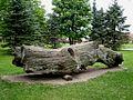 Lielvārde, Spīdalas bluķis 2009-05-17.jpg