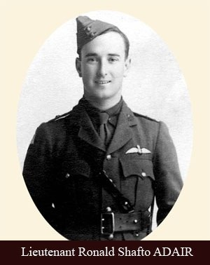 John Ronald Shafto Adair - Image: Lieutenant John Ronald Shafto Adair