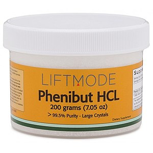 "Phenibut - Phenibut sold online as a ""nootropic supplement""."