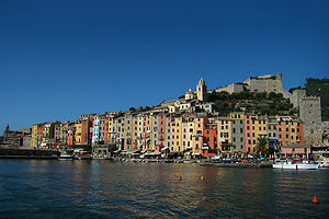 Porto Venere - View from the sea.