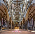 Lincoln Cathedral Nave Stained Glass 1, Lincolnshire, UK - Diliff.jpg