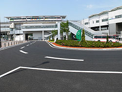 Linimo of Yakusa Station 01.JPG