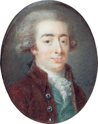 Jonas Carl Linnerhielm - Jonas Carl Linnerhielm, self-portrait