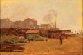 Lisboa - trecho junto ao Tejo (1908) - Marques de Oliveira.png