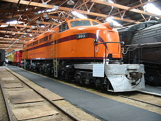 Chicago South Shore and South Bend Railroad - A former Chicago South Shore and South Bend electric freight locomotive