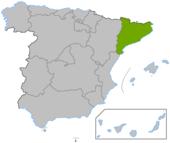 Cataluñaen en España