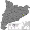 Location of Fogars de la Selva.png