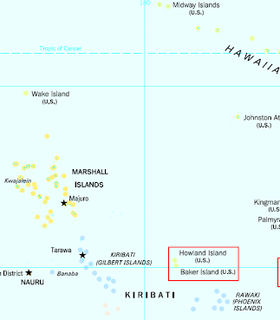 Howland and Baker Islands Unincorporated U.S. territory