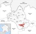 Locator map of Kanton Saint-Affrique.png