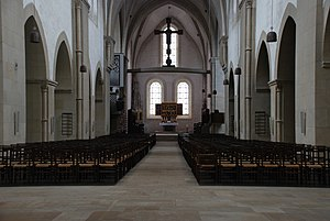 Loccum Abbey - Interior of the abbey church