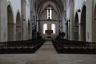 Loccum Abbey - Interior of the abbey church