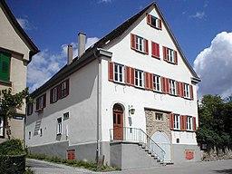 Pfarrhaus bei der Kirche in Löchgau