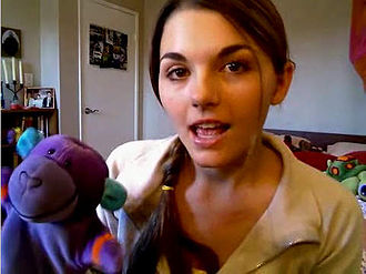 Lonelygirl15 - Bree as lonelygirl15 in a video blog