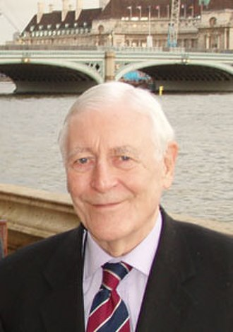 Eric Lubbock, 4th Baron Avebury - Lord Avebury in 2006
