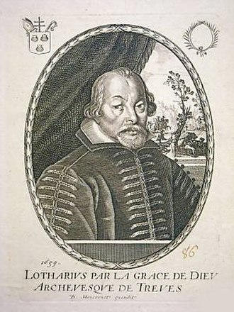 House of Metternich - Lothar von Metternich (1551–1623), Elector of Trier