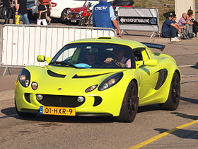 Lotus EXIGE dutch licence registration 01-HXR-9 pic1.JPG