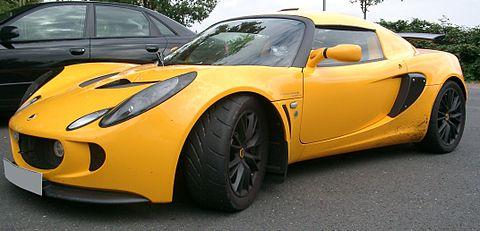 Lotus Exige front 20070912