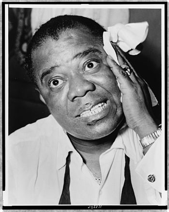 Head and shoulders portrait of jazz musician L...
