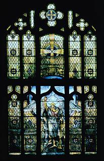 <i>Angel of the Resurrection</i> (Tiffany Studios stained glass window)