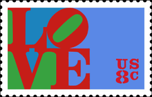 Lovestamp, LOVE, design, Robert Indiana