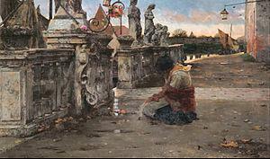 Luigi Nono (painter) - Refugium peccatorum.