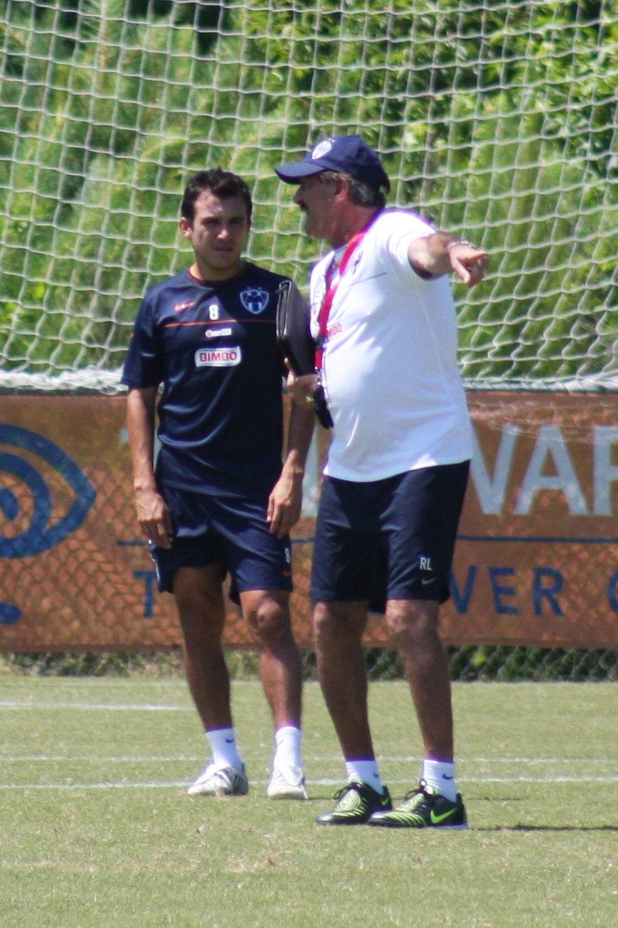 Luis P%C3%A9rez and Ricardo Lavolpe - CF Monterrey